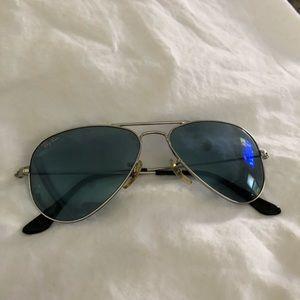 Ray-Ban RB3044 // W3177 Silver w/Blue Sunglasses